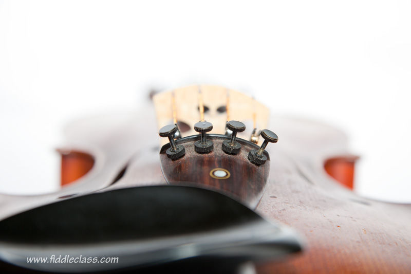 Fine adjusters, used for tuning a fiddle