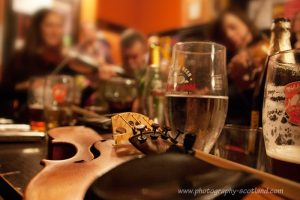 Sandy bells pub - one of many folk music sessions in Scotland