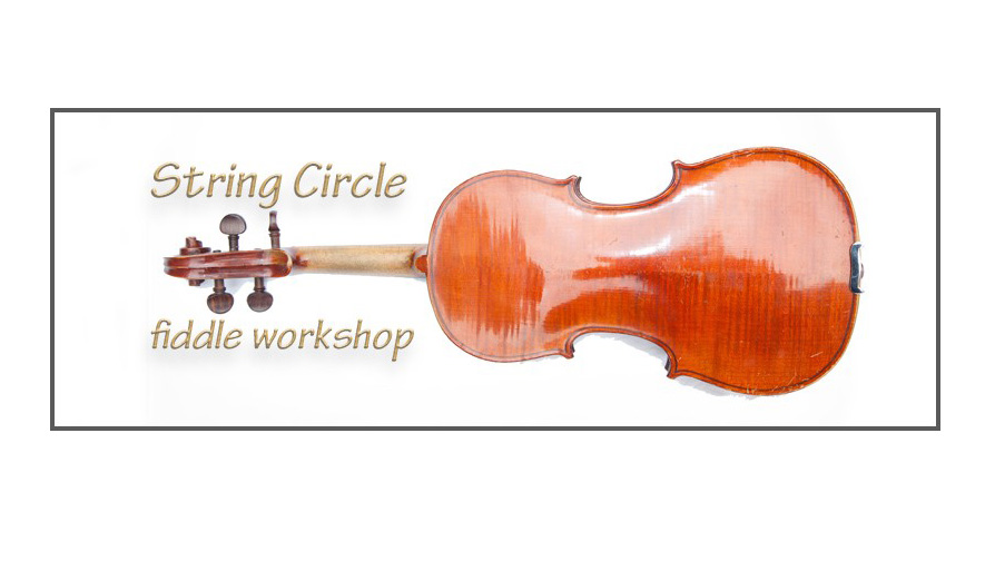 String Circle fiddle workshop logo