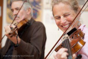 Fiddle class, Edinburgh