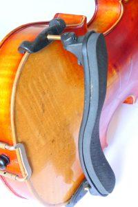 Shoulder rest on a fiddle